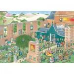 Puzzle  Jumbo-20023 Jan Van Haasteren - Le Marché de l'Art