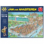Puzzle  Jumbo-20039 Jan van Haasteren - Pool Pile-Up