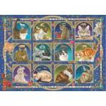Puzzle   Francien - Cat Horoscope