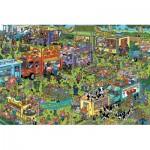 Puzzle   Jan van Haasteren - Food Truck Festival