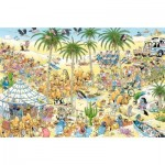 Puzzle   Jan Van Haasteren - L'Oasis