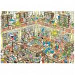 Puzzle   Jan van Haasteren - The Library