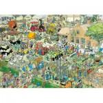 Puzzle   Jan Van Haasteren - Visite à la Ferme