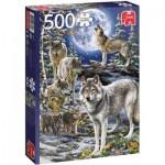 Puzzle   Meute de Loups en Hiver