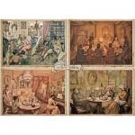 Puzzle   Premium Collection - Anton Pieck, Living Room Entertainment