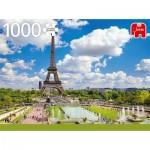Puzzle   Tour Eiffel en été