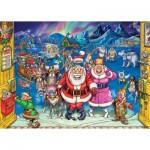 Wasgij Christmas 17 - Elf Inspection (+ 1 Puzzle Gratuit)