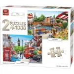 2 Puzzles - Amsterdam & London