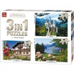 3 Puzzles - Landscape Collection