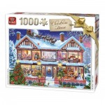 Puzzle   Christmas House