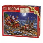 Puzzle   Christmas Santa Sleigh