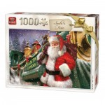Puzzle   Christmas Santa Train