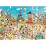 Puzzle   Comic Collection - Paris