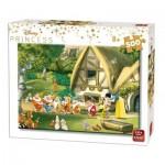 Puzzle   Disney Princess - Blanche Neige et les 7 Nains