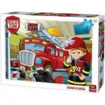 Puzzle   Rescue Team - Fireman in Garage
