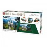 King-Puzzle-05343 Roll & Go + Puzzle Neuschwanstein