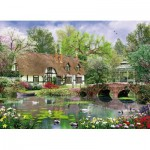 Puzzle  King-Puzzle-05358 Cottage au Printemps