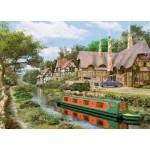 Puzzle  King-Puzzle-05364 Cottage sur le Canal