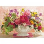 Puzzle  King-Puzzle-05377 Language of Flowers