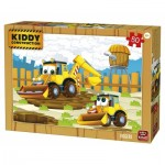 Puzzle  King-Puzzle-05456 Kiddy Construction
