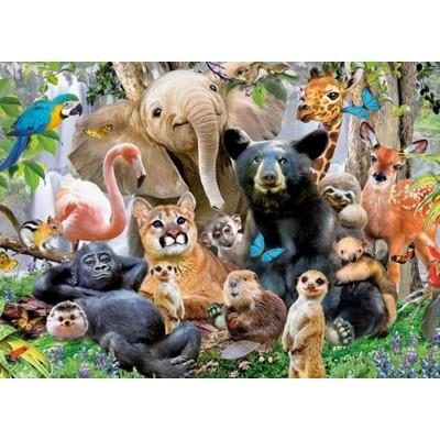 Puzzle King-Puzzle-05484 Jungle Party