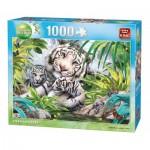 Puzzle  King-Puzzle-05486 Tigres de Sibérie