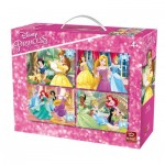King-Puzzle-05509 4 Puzzles - Disney Princesses