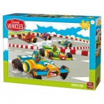 Puzzle  King-Puzzle-05524 Racing Cars