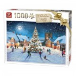 Puzzle  King-Puzzle-05610 Christmas Village