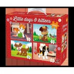 Puzzle  King-Puzzle-05641 Little Dogs & Kittens