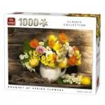Puzzle  King-Puzzle-05646 Bouquet de Fleurs de Printemps