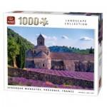 Puzzle  King-Puzzle-05663 Notre-Dame de Sénanque, Provence, France