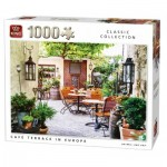 Puzzle  King-Puzzle-05670 Café Terrace in Europe