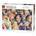 Puzzle  King-Puzzle-05674 poupées de Collection