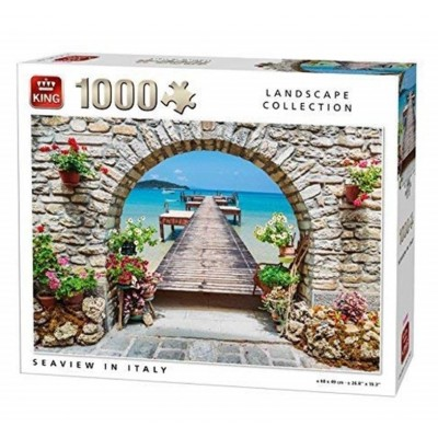Puzzle King-Puzzle-05710 Seaview in Italy