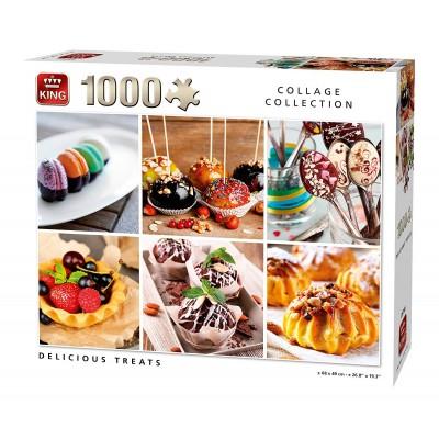 Puzzle King-Puzzle-05766 Collage - Delicious Treats