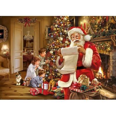 Puzzle King-Puzzle-05767 Christmas Santa List