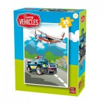 Puzzle  King-Puzzle-05775-A Funny Vehicles
