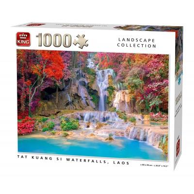 Puzzle King-Puzzle-55857 Tat Kuang Si Waterfalls Laos