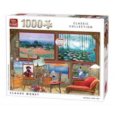 Puzzle King-Puzzle-55864 Claude Monet