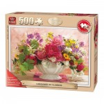 Puzzle  King-Puzzle-55879 Pièces XXL - Language of Flowers