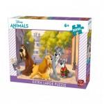 Puzzle  King-Puzzle-55910 Pièces XXL - La Belle et le Clochard