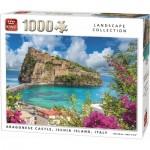 Puzzle  King-Puzzle-55948 Argonese Castle, Ischia Island, Italy