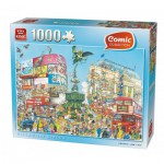 Puzzle  King-Puzzle-K05082 Comic Collection - Piccadilly Circus
