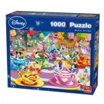Puzzle  King-Puzzle-K05125 Disney Mad Tea Cup