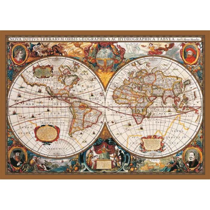 Carte du Monde au 17ème Siècle