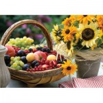 Puzzle  KS-Games-11227 Fruits et Tournesols