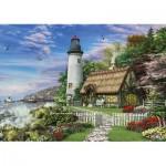 Puzzle  KS-Games-11291 Dominic Davison : Le Vieux Cottage du Bord de Mer