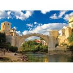 Puzzle  KS-Games-11304 Vieux Pont de Mostar, Bosnie-Herzégovine
