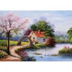 Puzzle  KS-Games-11324 La Maison du Lac